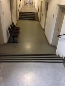 Rathaus - Jugendhilfeabteilung - Doppeltreppe